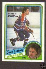 1984-85 OPC Hockey Dave Lumley #252 Oilers Whalers NMMT