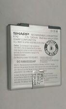 OEM Sharp FX  BTR2 Battery AT&T 1240mAh