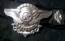 HARLEY DAVIDSON GENUINE RARE LONE STAR BELT BUCKLE