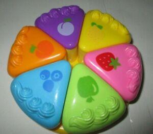Leapfrog Leap Frog Musical Rainbow Tea set Cake Baby Toddler Toy