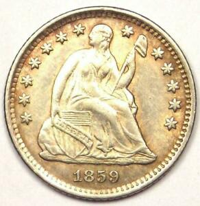 1859-O Seated Liberty Half Dime H10C - Excellent Condition - Rare Date!