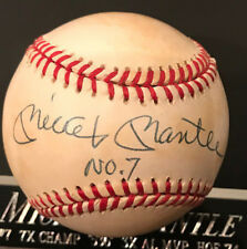 Mickey Mantle Autographed No.7 baseball