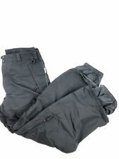 Columbia Covert Snowboard Pants Mens Large Cargo Black Snow