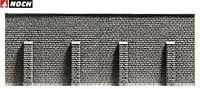 NOCH H0 58056 Stützmauer, 33,4 x 12,5 cm (1m² - 244,32 €) - NEU + OVP