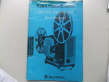 Instructions BELL & HOWELL 1692 1693 1694 16951698 UK French Dutch Spanish CDEml