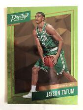 2017-18 Prestige Jayson Tatum RC Rookie Micro Etch Green SP #3