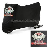 XXL Waterproof Skull Motorcycle Cover Fit Honda Goldwing GL 1500 1800 1200 1100