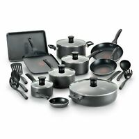 Pots and Pans Set Tfal Cookware Set Nonstick Cooking Home Kitchen Chef T-Fal New