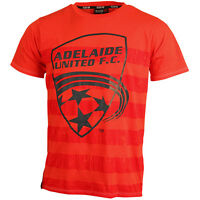 Adelaide United FC Classic Marle T Shirt Size S-5XL! A League Soccer Football!