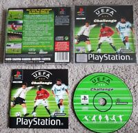 Rare Uefa Challenge ps1 playstation 1 complete with manual in great condition