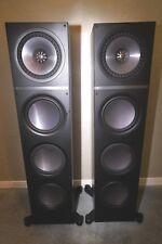 Great Condition! $1800 KEF Q900 Floorstanding Tower Speakers - Black - Pair