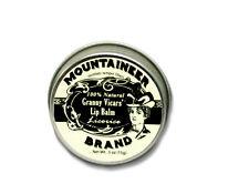 Mountaineer Brand® Granny Vicars' Lip Balm (Licorice) 2 oz.