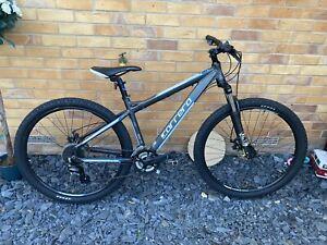 "Carrera Vengeance Mountain Bike - Small 16"" - Grey 27.5"" Wheels"