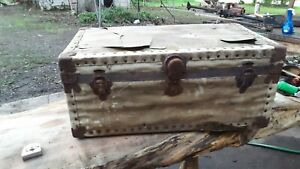 Early 1900s Vintage Steamer Trunk/Chest