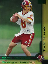 208 Todd Husaak Washington Redskins Skybox 2000 Rookie