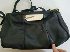 620360fd93 Haltson Heritage Women s Black Leather Purse Handbag Satchel Tote