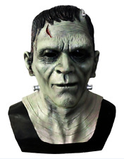 Frankenstein Monster Mask Latex Boris Karloff Halloween Horror