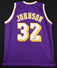 Magic Johnson Signed Los Angeles Lakers