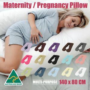 Aus Made Maternity Pregnancy Nursing Sleeping Body Boyfriend Pillow-80 x 140cm