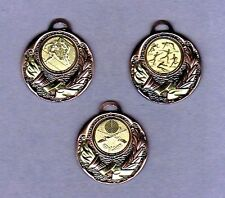 100 Medaillen bronze mit Emblem Ski + Band #60 (Pokale Medaille Pokal Turnier)