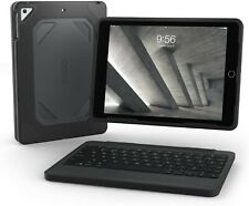 NEW ZAGG Rugged Book for iPad Air Durable Tablet Keyboard & Detachable Case