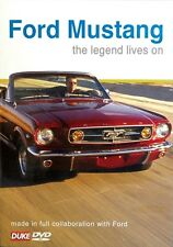 Ford Mustang - The Legend Lives On (New DVD) GT Nashville Prototype Speedway