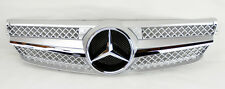 Mercedes CLK Class W209 03-09 1 Fence SLS Front Hood Sport Silver Grill Grille