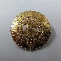 Genuine Irish Defence Forces cap badge Fianna Fáil Insignia Metal Hat Badge NEW