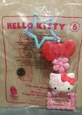 NEW McDonalds Happy Meal Toy 2018 HELLO KITTY, #6 CLIP WITH NAMETAG, SANRIO, NIP