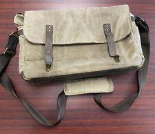 ONA Canvas Camera/Messenger Bag Tan (Missing Closure Snaps)