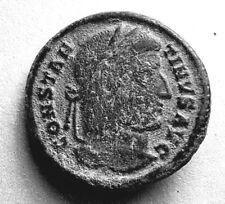 ANCIENT ROMAN COIN - CONSTANTINE I. 272-337AD - VOT XX IN WREATH - #406
