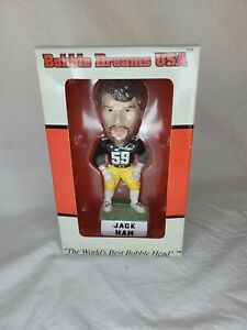 Jack Ham Steelers Bobble Dreams SUPER BOWL STEEL CURTAIN BOBBLE HEAD vintage