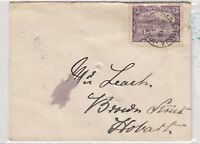 Tasmania 1903 2d Cover To Hobart Postal History J1325