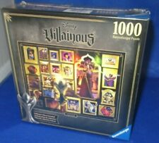 RAVENSBURGER DISNEY VILLAINOUS JAFAR 1000 PC PUZZLE, NEW SEALED IN BOX