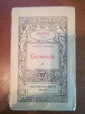 Giovenale - Concetto Marchesi - Bietti - 1940 - M
