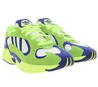 adidas Originals 90er-Jahre Schuhe Herren Retro-Sneaker Yung-1 Turnschuhe Grün