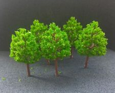 Ho Scale, N Scale Trees, Lot of 5  #3