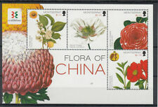 Montserratian Flowers Sheet Postal Stamps