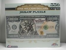Jigsaw Puzzle 550 Pieces One Million Dollars by CraZArt FACTORY SEALED