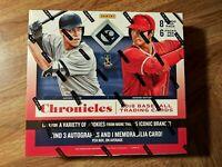 2018 Panini Chronicles Baseball 6 Pack Hobby Box FACTORY SEALED