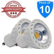 10X haute qualité GU10 5W led cob spotlight 6400K blanc froid lumière du jour ampoule 240V