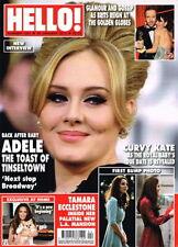 January Hello! Celebrity Magazines
