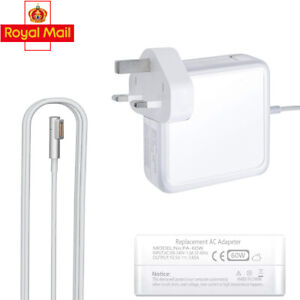 60W Adapter Power Charger for MAC  Macbook Pro Air L-Tip Mag Safe 1 AC Plug