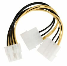 Glaxio Internal power splitter cable EPS 8-pin - 2x Molex male 0.15 m