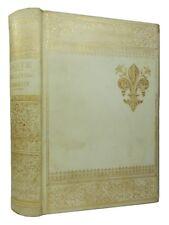 THE DIVINE COMEDY OF DANTE ALIGHIERI, Circa 1880, Fine Gilt Parchment Binding