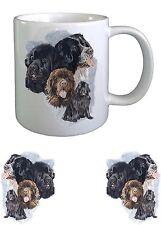 Newfoundland Dog Sketch Ceramic Mug by paws2print