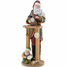 Lenox 2014 Santa Annual Pencil Figurine Countdown to Christmas Clock Shop New