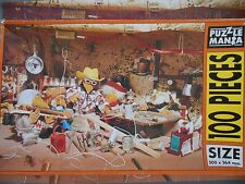 Vintage Jigsaw puzzle THE WOMBLES puzzle mania 100 large piece  collectable