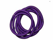 6 Purple Snag-Free Hair Elastics Hair Bands