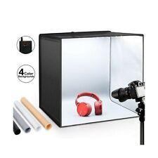 "ESDDI Photo Studio Light Box 20""/50cm Adjustable Brightness Portable Folding ..."
